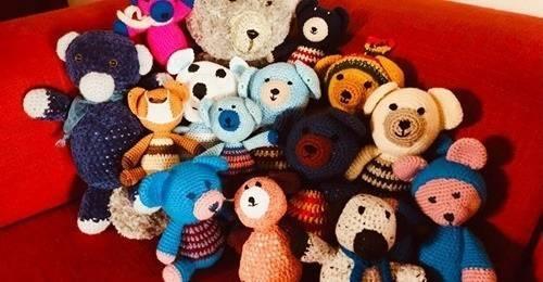 Knuffelberen voor de kinderen van XONAR